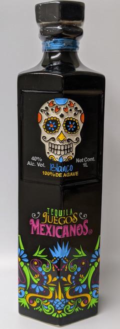 Juegos Mexicanos Blanco Tequila Seasonal Bottle 1L