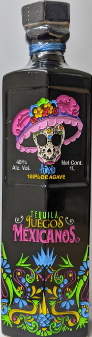 Juegos Mexicanos Añejo Tequila Seasonal Bottle 1L