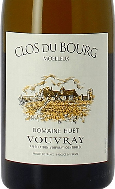 Huët Vouvray Clos du Bourg Moelleux 2018