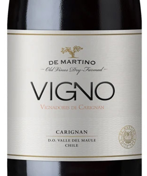 De Martino Vigno Carignan Maule Valley La Aguada Vineyard 2017