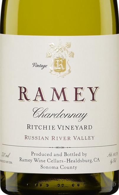 Ramey Chardonnay Russian River Valley Ritchie Vineyard 2017