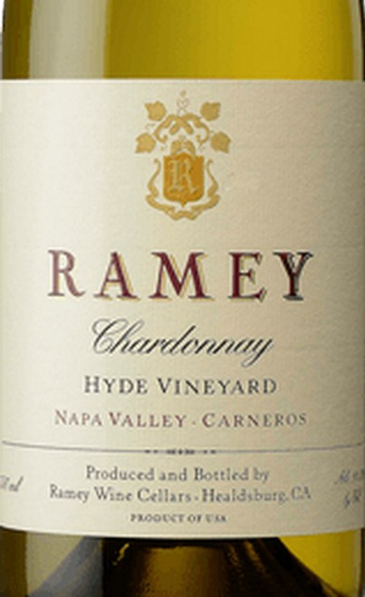 Ramey Chardonnay Napa Valley Carneros Hyde Vineyard 2017