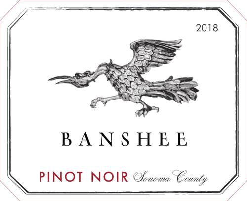 Banshee Pinot Noir Sonoma County 2018
