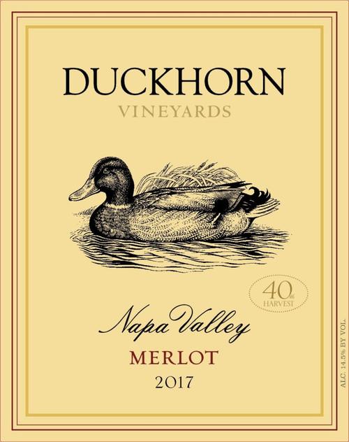 Duckhorn Merlot Napa Valley 2017