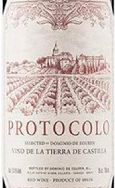 Eguren Protocolo Tinto Vino de la Tierra de Castilla 2018