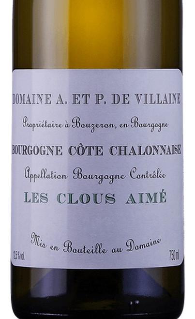 A. & P. de Villaine Bourgogne Côte Chalonnaise Les Clous Aimé 2018