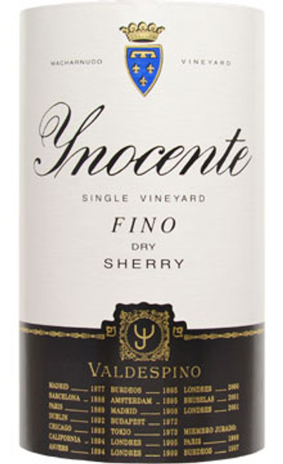 Valdespino Dry Fino Sherry Inocente Single Vineyard NV