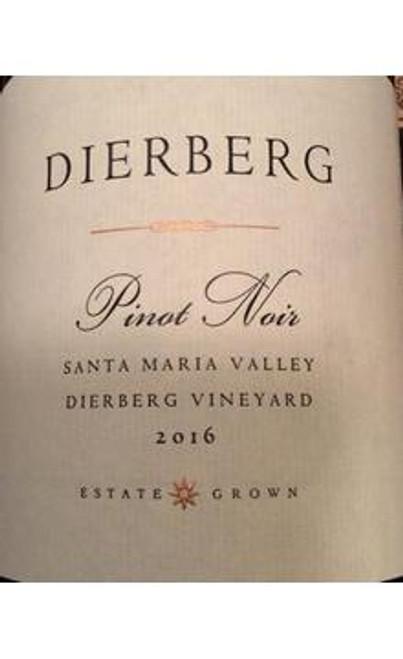 Dierberg Pinot Noir Santa Maria Valley Dierberg Vineyard 2016