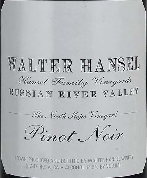 Walter Hansel Pinot Noir Russian River Valley North Slope 2018