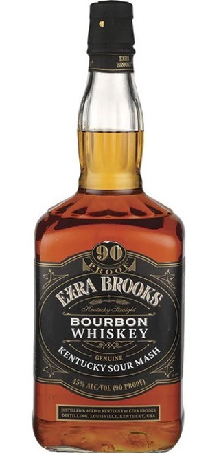 Ezra Brooks Kentucky Sour Mash Bourbon Whiskey