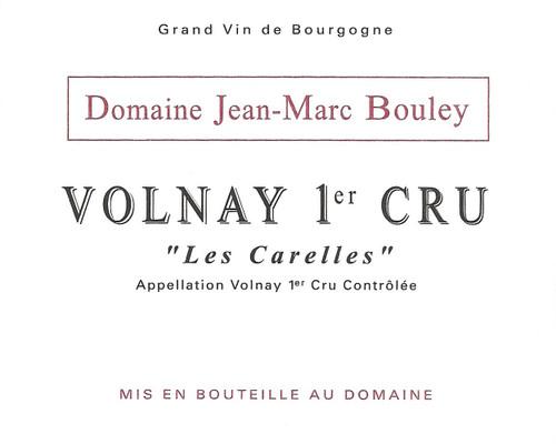 Bouley/Jean-Marc Volnay 1er cru Les Carelles 2018
