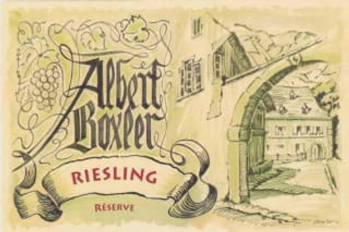 Boxler Riesling Réserve 2017