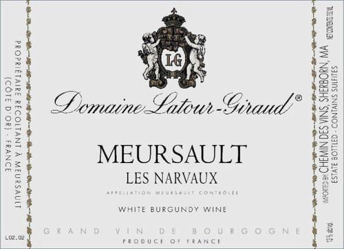 Latour-Giraud Meursault Narvaux 2018