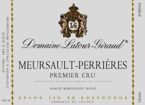 Latour-Giraud Meursault 1er cru Perrières 2018