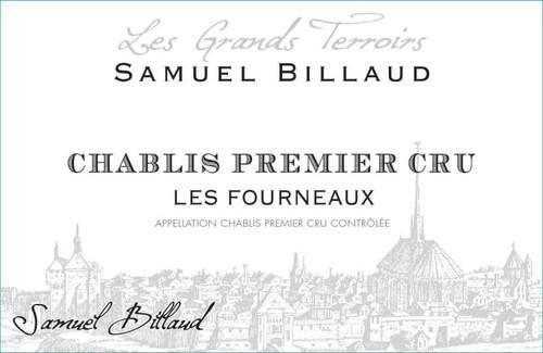Billaud/Samuel Chablis 1er cru Les Fourneaux 2018