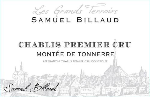 Billaud/Samuel Chablis 1er cru Montée de Tonnerre 2018
