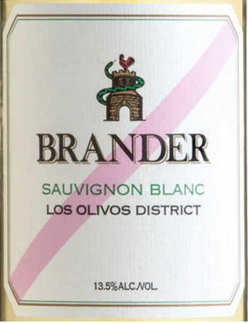 Brander Sauvignon Blanc Au Naturel Los Olivos District 2018