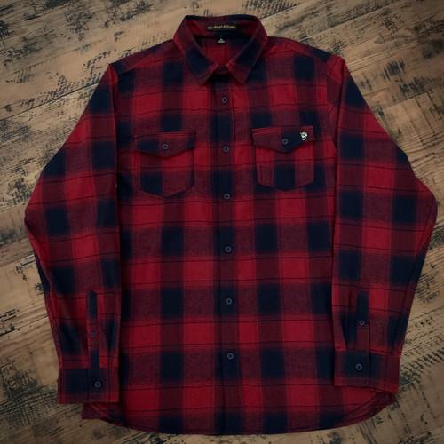 Red/Navy Lumberjack Plaid