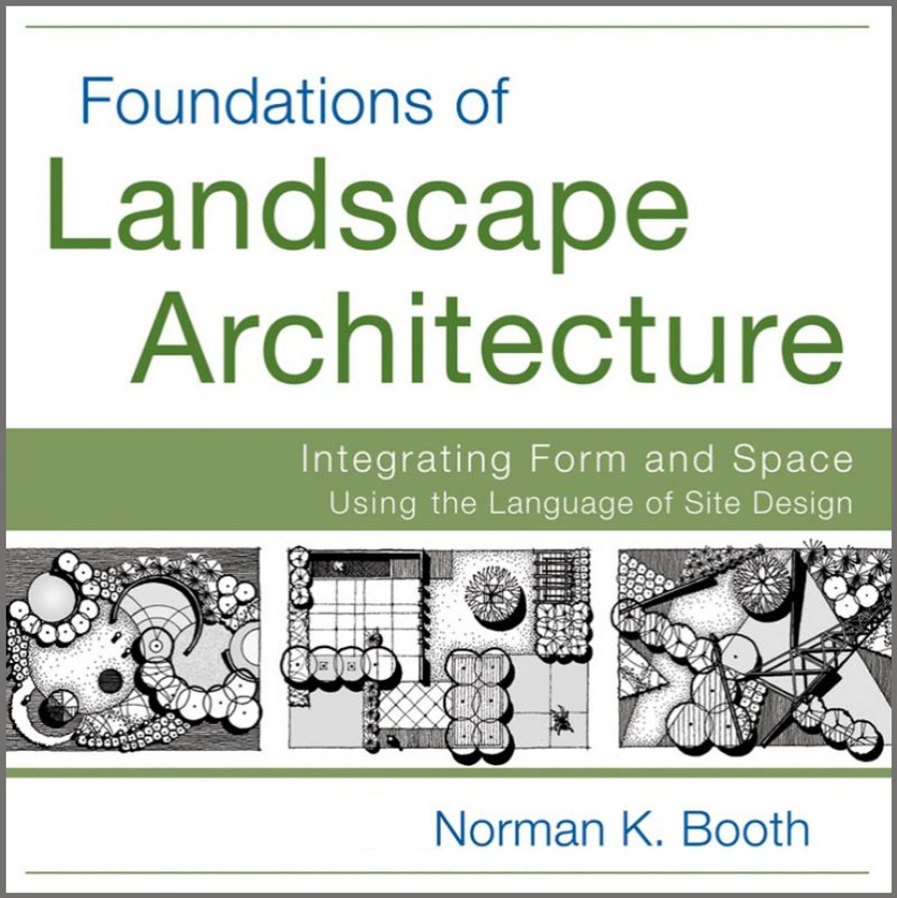 Foundations of Landscape Architecture: Integrating Form and Space Using the Language of Site Design - ISBN#9780470635056