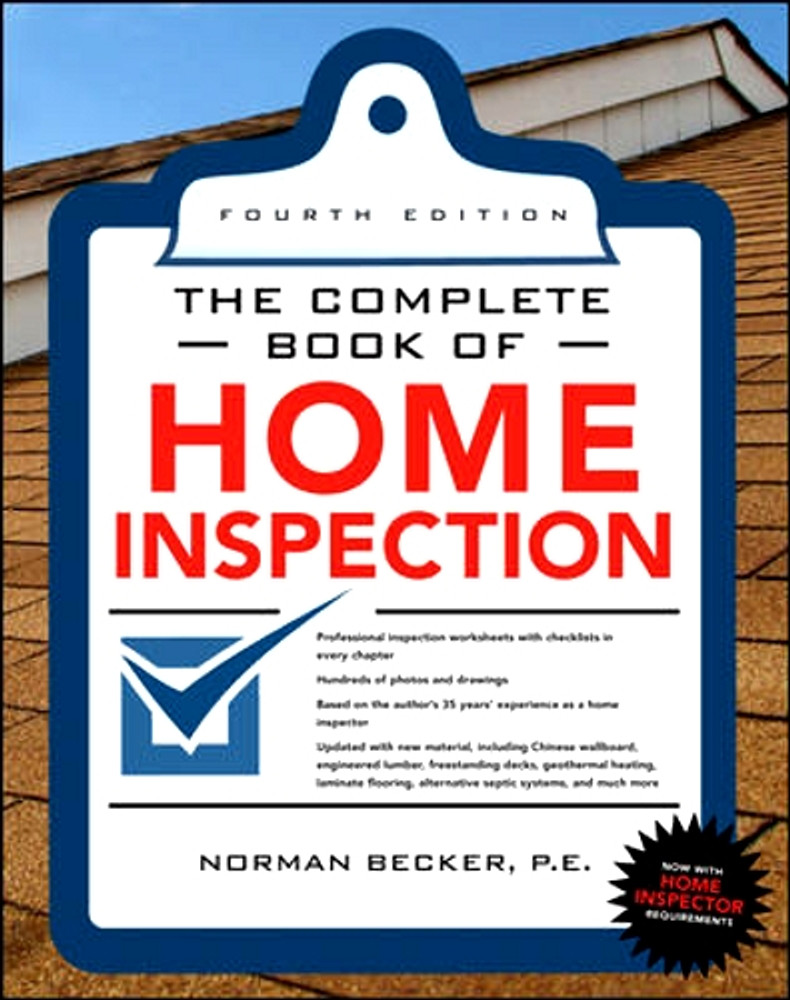 The Complete Book of Home Inspection - ISBN#9780071702775