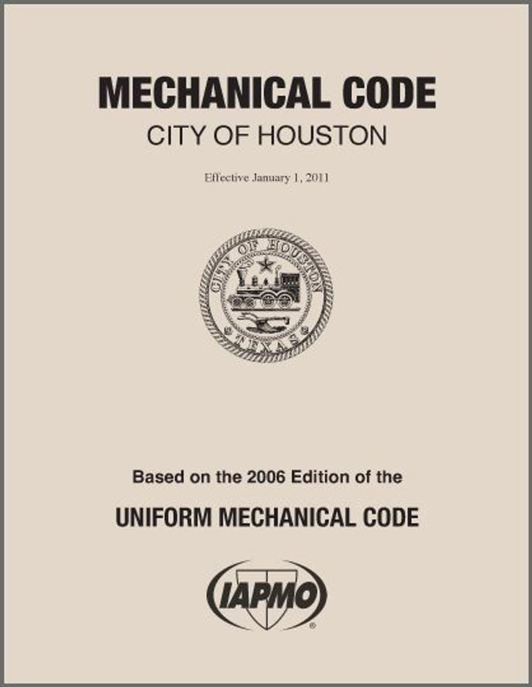 2011 Houston Mechanical Code Amendments