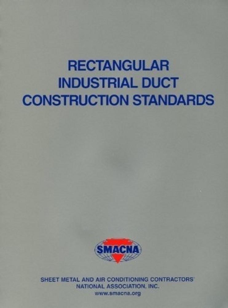 Rectangular Industrial Duct Construction Standards (IP) - ISBN#9781617210594