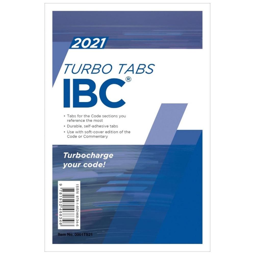 2021 IBC Turbo Tabs (Looseleaf)