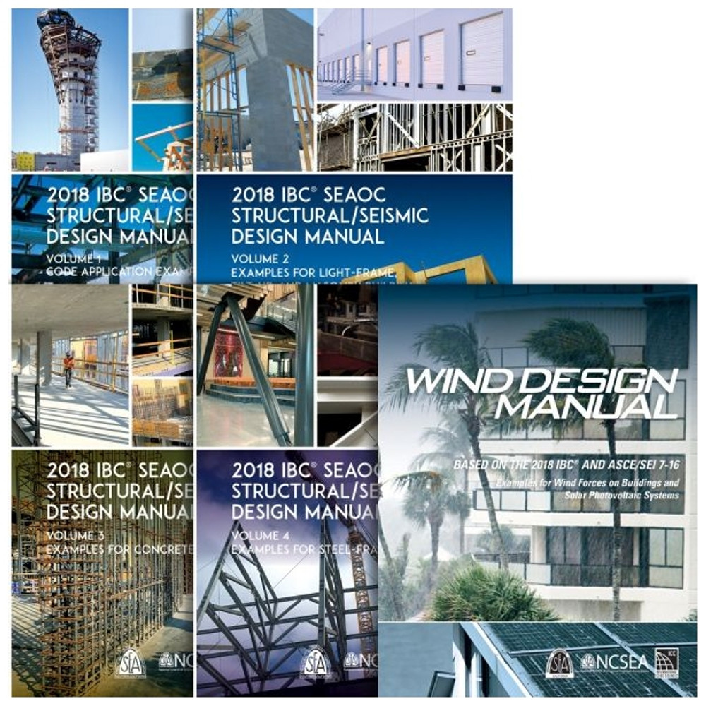 2018 SEAOC Design Manual Collection and Wind Design Manual