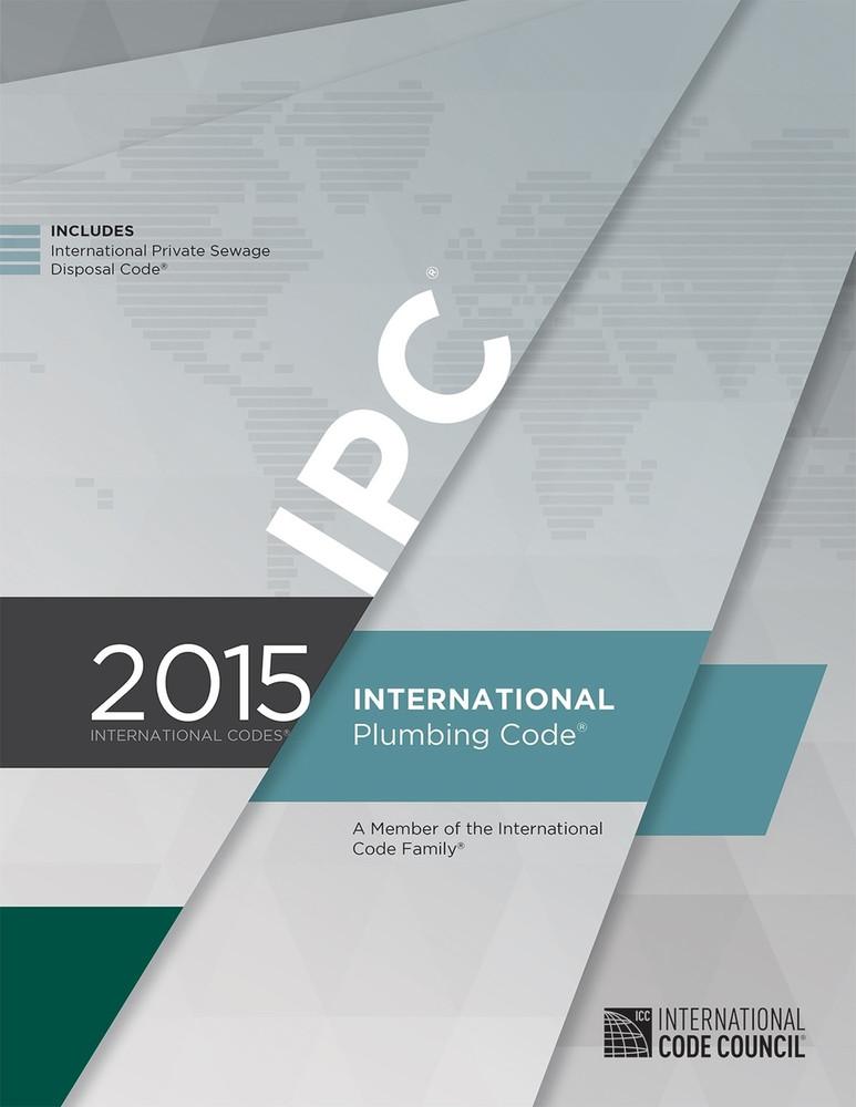 2015 International Plumbing Code - ISBN#9781609834814