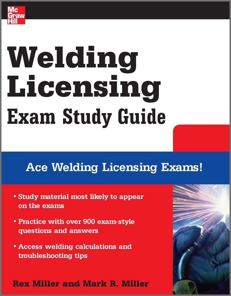 Welding Licensing Exam Study Guide - ISBN#9780071493765