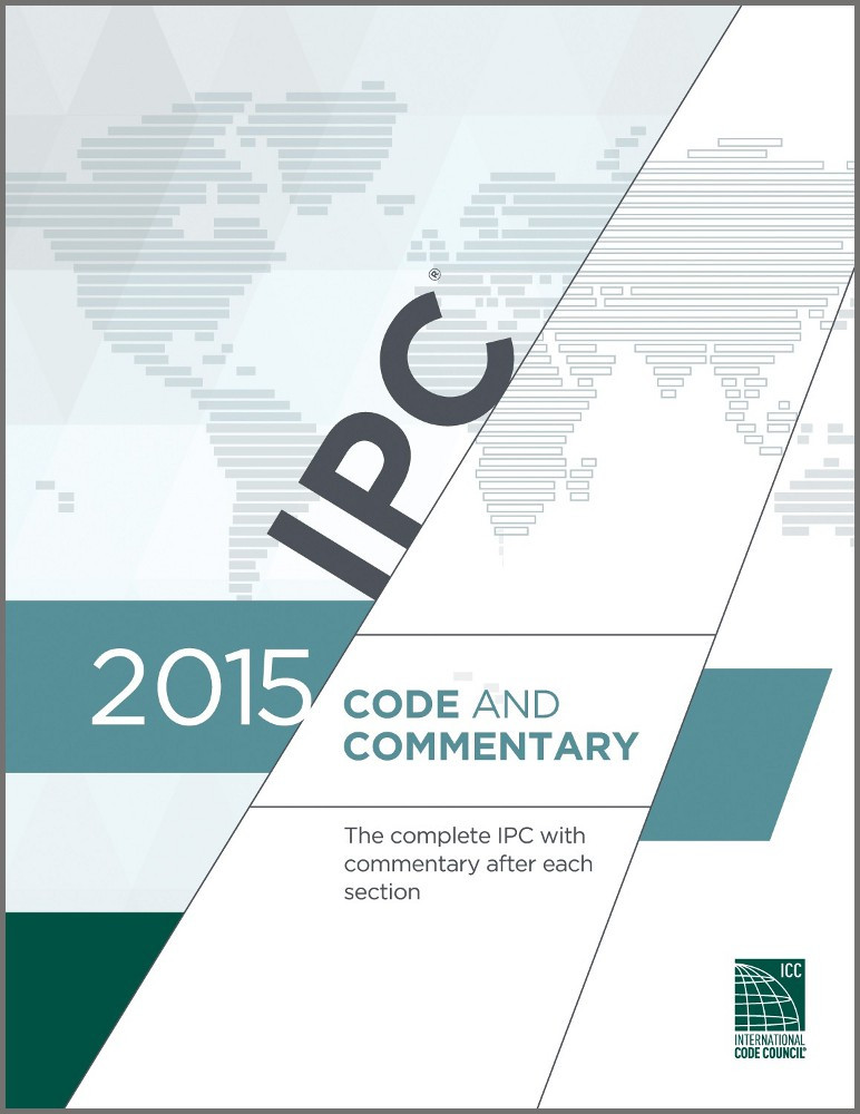 2015 IPC Code and Commentary - ISBN#9781609832902
