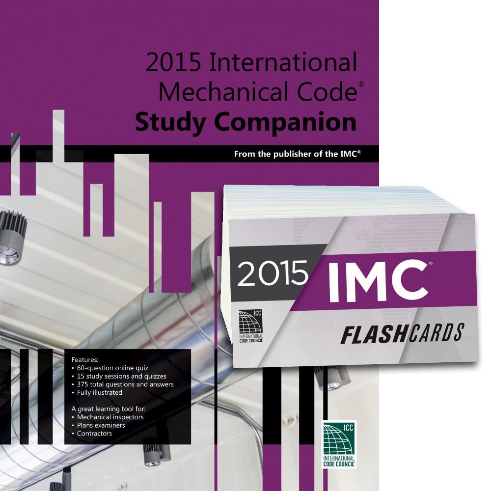 2015 International Mechanical Code Study Companion and Flash Card Set