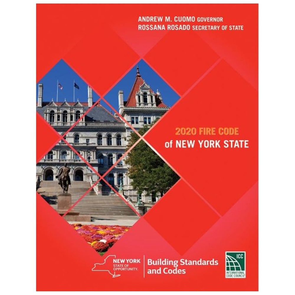 2020 Fire Code of New York State - ISBN#9781609839147