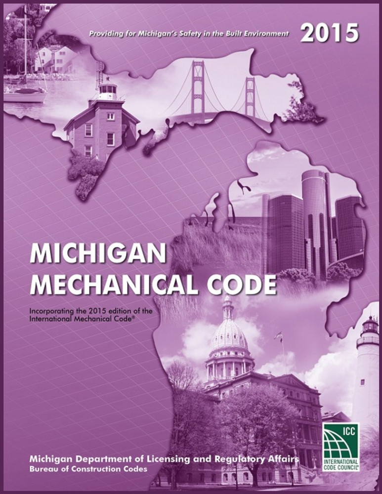 2015 Michigan Plumbing Code - ISBN#9781609836801