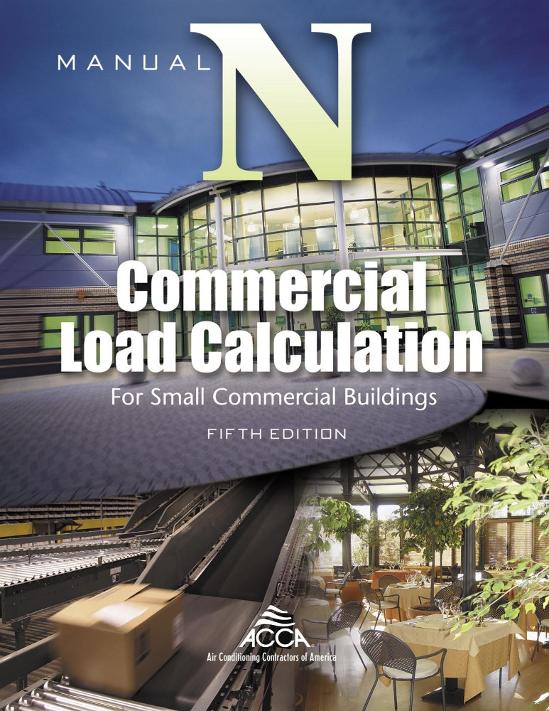 Manual N - Commercial Load Calculation - ISBN#9781892765383