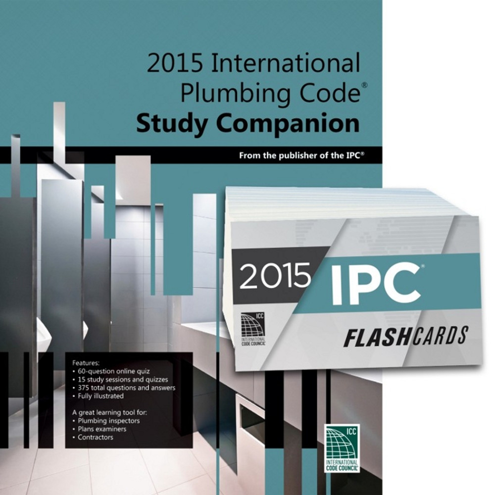 2015 International Plumbing Code Study Companion and Flash Card Set