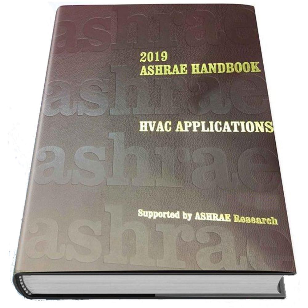 2019 ASHRAE Handbook - HVAC Applications (SI) - ISBN#9781947192133