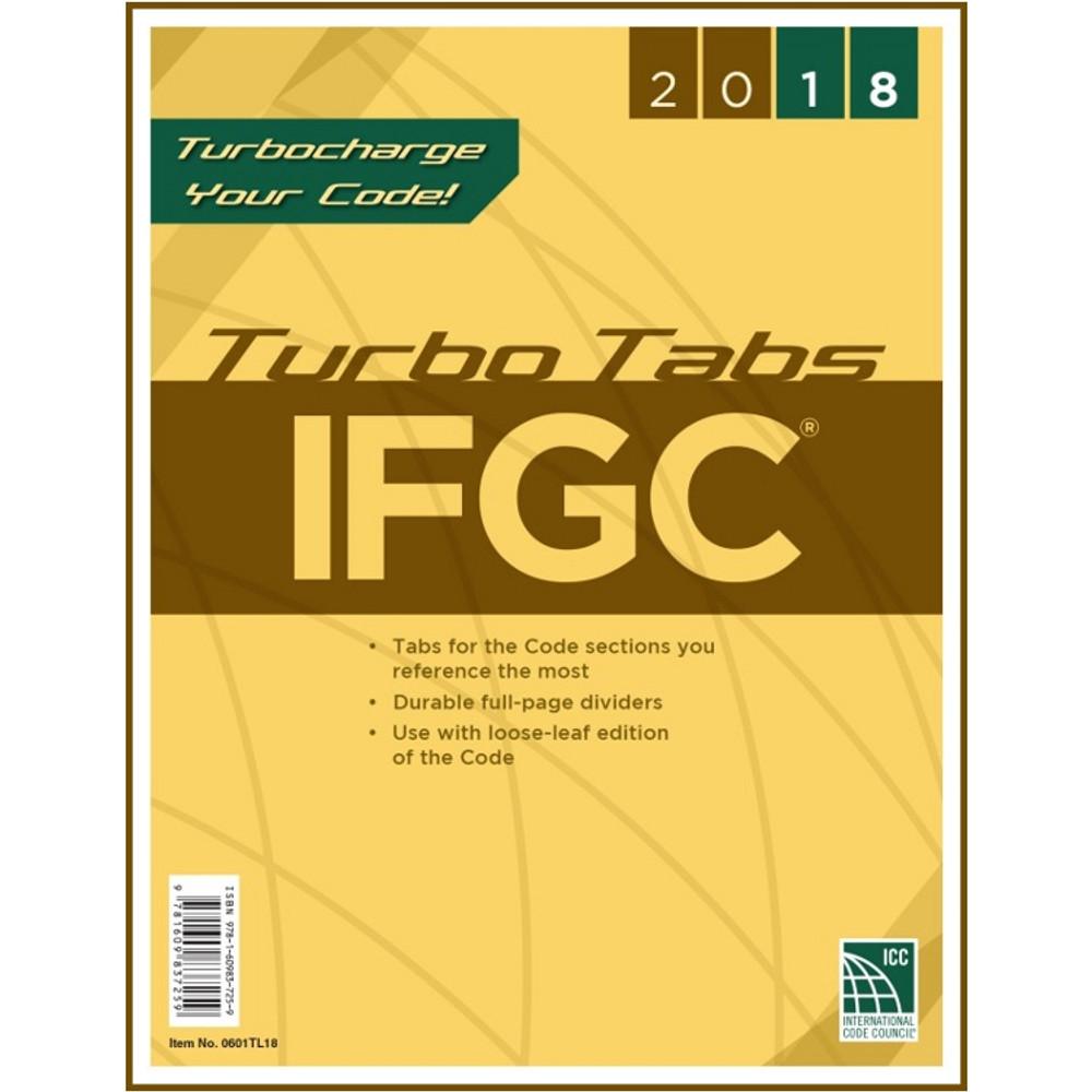 2018 IFGC Turbo Tabs (Looseleaf)