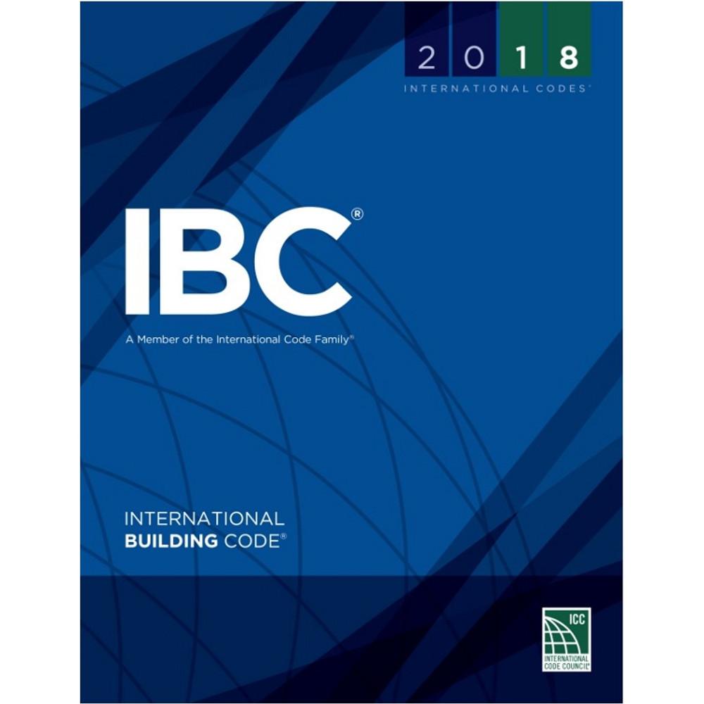 2018 International Building Code - ISBN#9781609837358