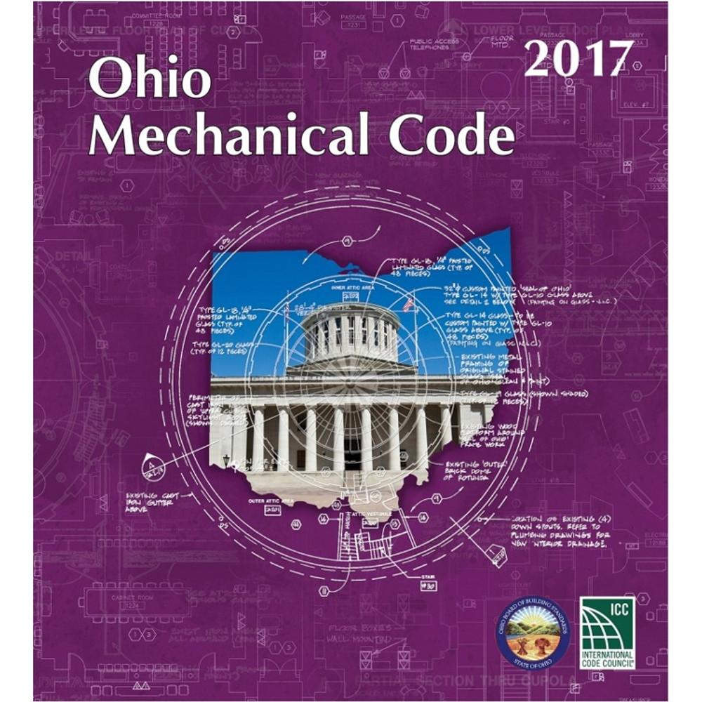 2017 Ohio Mechanical Code - ISBN#9781609837624