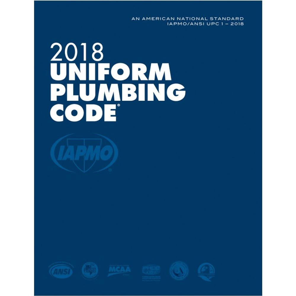 2018 Uniform Plumbing Code - ISBN#9781944366070
