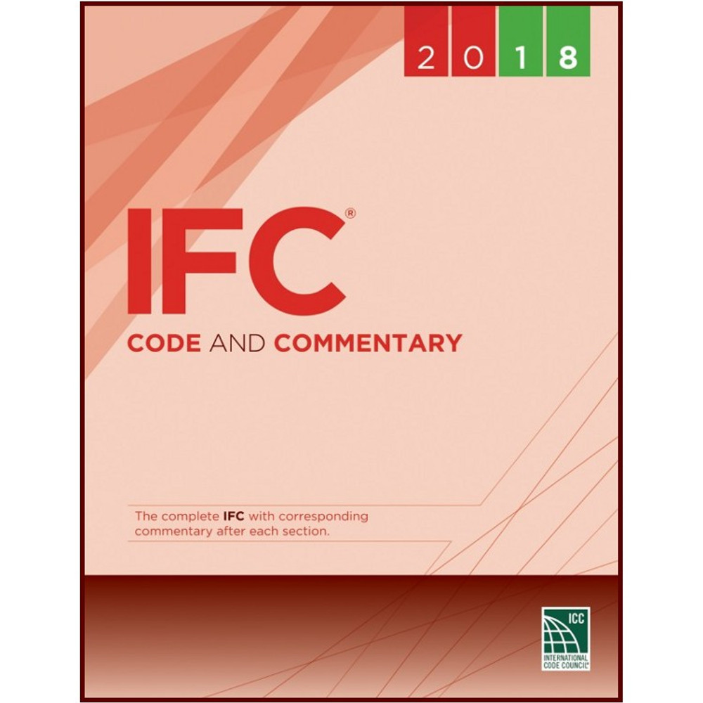 2018 IFC Code and Commentary - ISBN#9781609837693