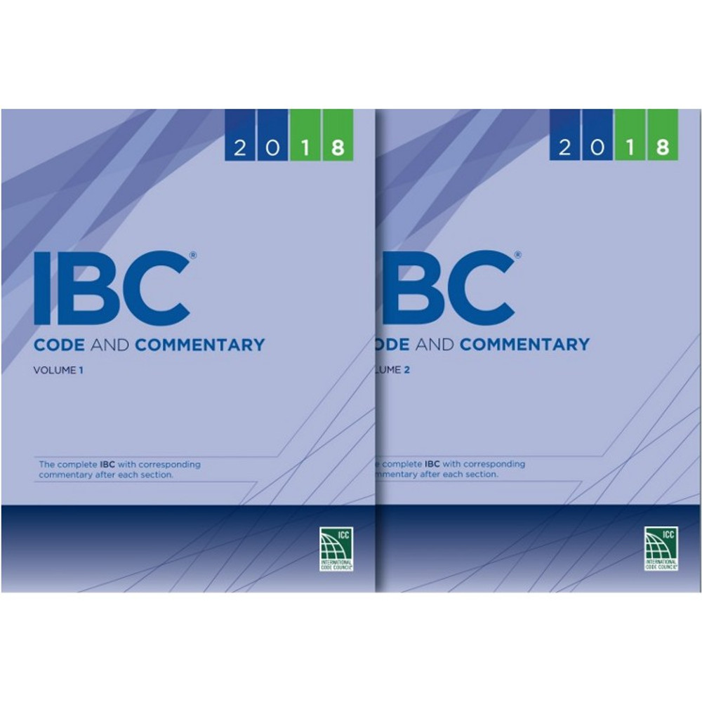 2018  IBC Code and Commentary