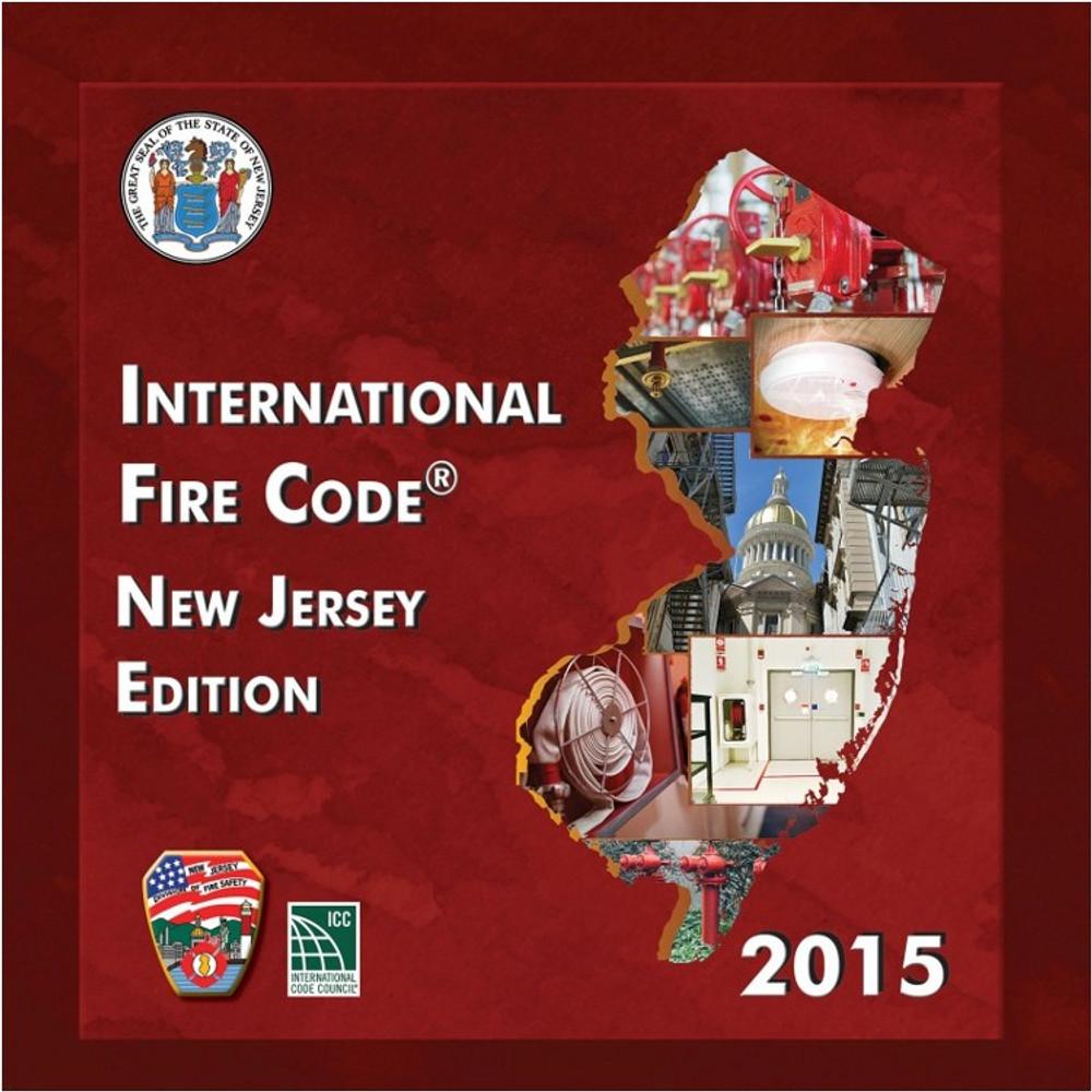 2015 International Fire Code New Jersey Edition - ISBN#9781609838423