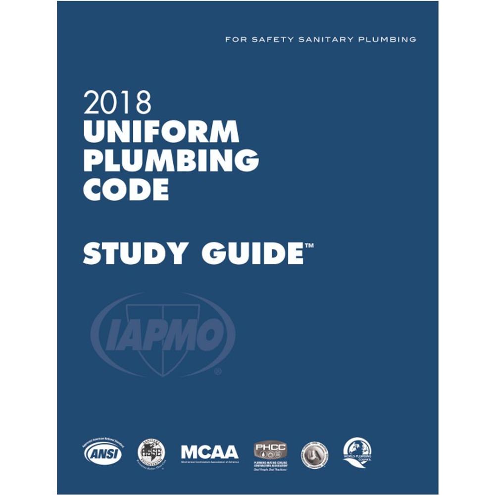 2018 Uniform Plumbing Code Study Guide - ISBN#9781944366216