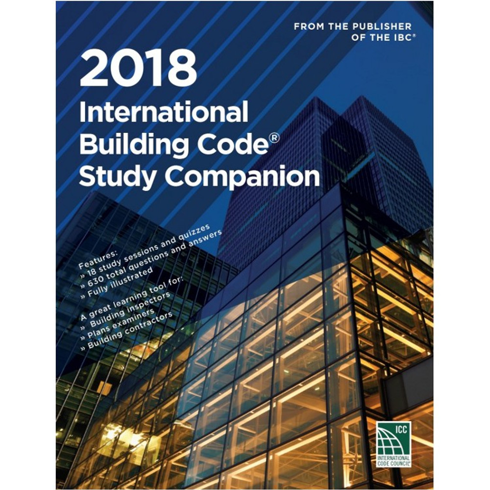 2018 International Building Code Study Companion - ISBN#9781609837921