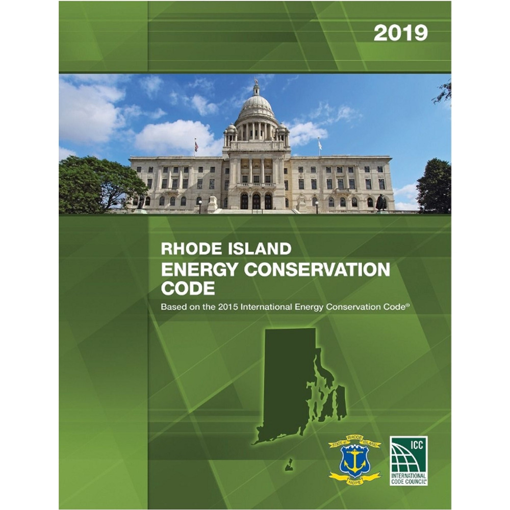 2019 Rhode Island Energy Conservation Code - ISBN#9781609836368