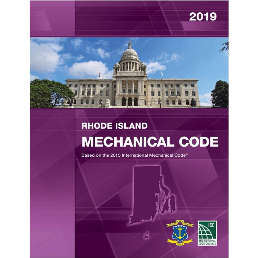 2019 Rhode Island Mechanical Code - ISBN#9781609836337