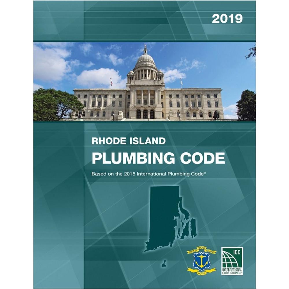 2019 Rhode Island Plumbing Code - ISBN#9781609836320