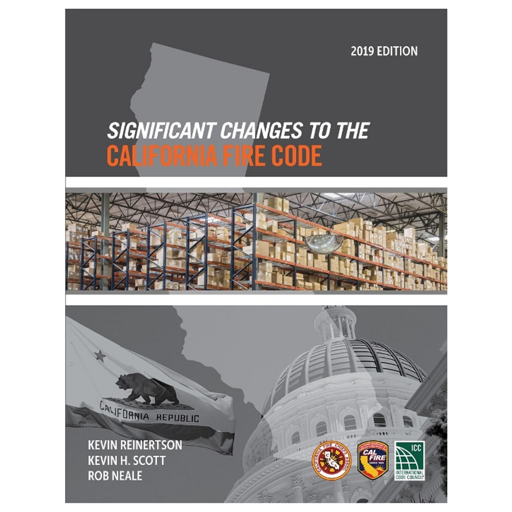 Significant Changes to the California Fire Code 2019 - ISBN#9781609838843
